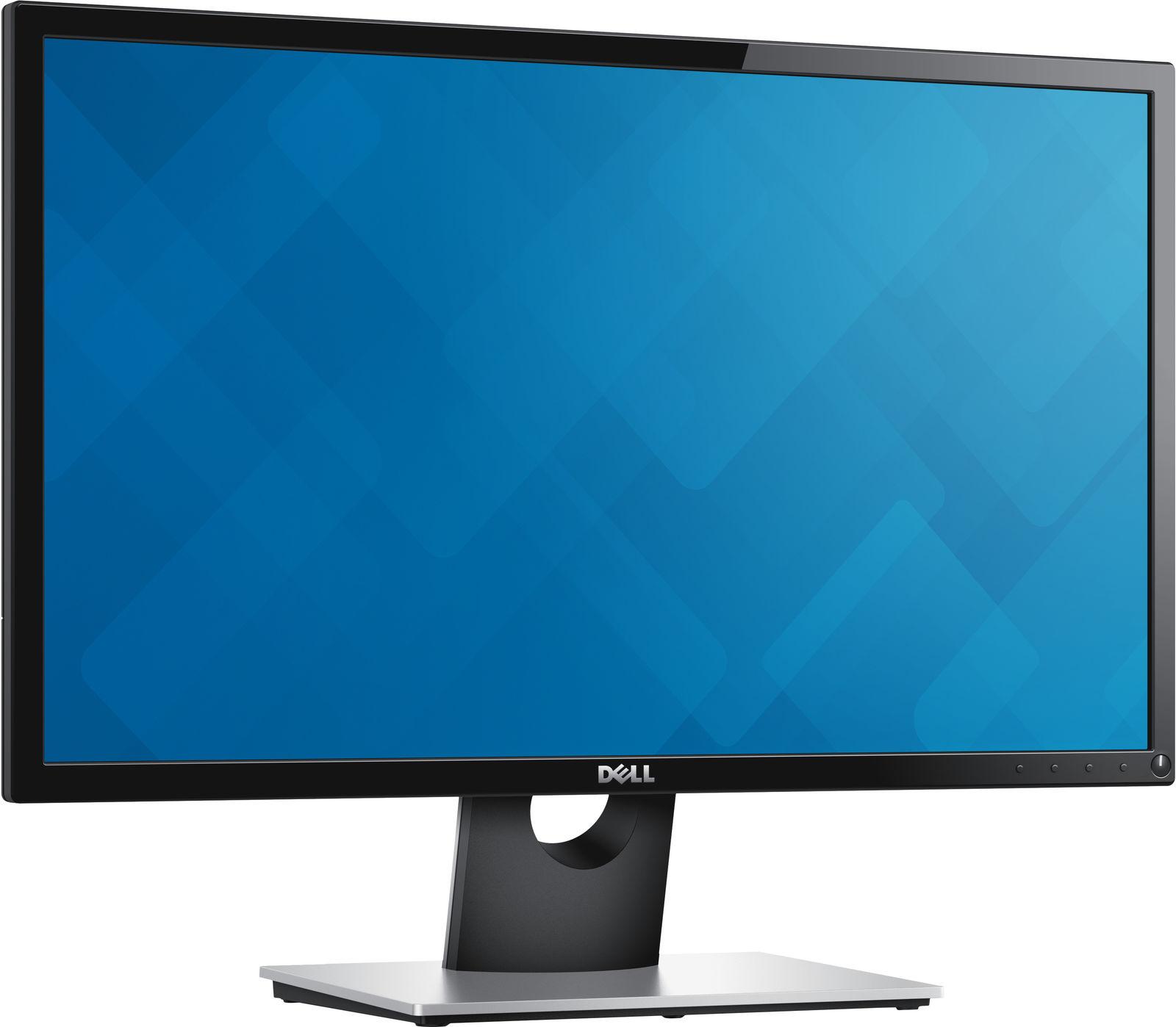 "DELL S Series SE2416H 61 cm (24"") 1920 x 1080 Pixels Full HD LCD Zwart"