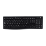 Logitech K270 keyboard RF Wireless Black,Grey