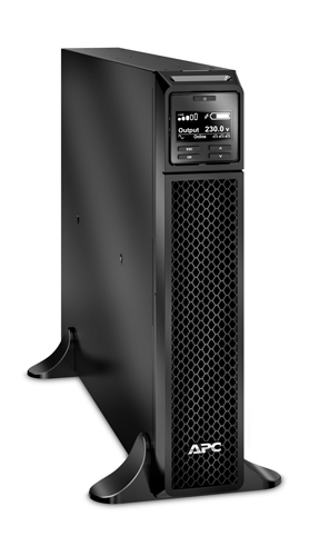APC SRT3000XLI sistema de alimentación ininterrumpida (UPS) Doble conversión (en línea) 3000 VA 2700 W 10 salidas AC