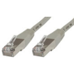 Microconnect 7.5m Cat6 FTP networking cable Grey