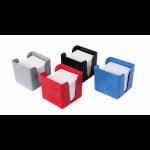 Deflecto Value Deflecto Cubic Note Block and Holder Black