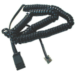 POLY 27190-01 telephone cable Black