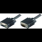 Microconnect MONGH5B VGA cable 5 m VGA (D-Sub) Black