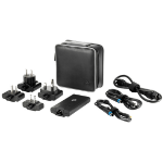 HP 65W Smart Travel AC Adapter Indoor 65W Black power adapter/inverter
