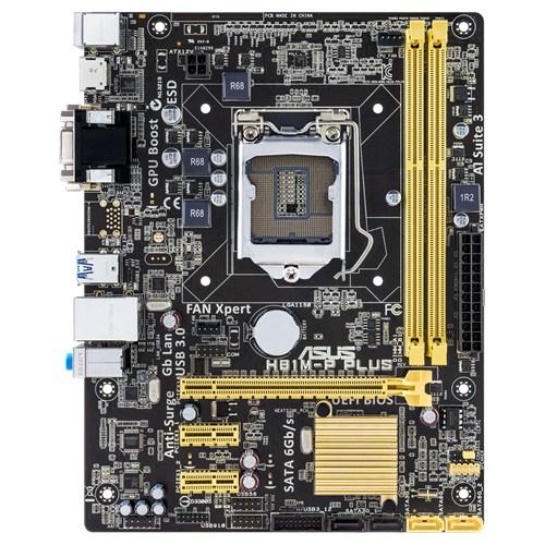 ASUS H81M-P PLUS Intel® H81 LGA 1150 (Socket H3) Micro ATX