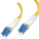 "C2G 5m LC/LC Duplex 9/125 Single-Mode Fiber Patch Cable - Yellow fiber optic cable 196.9"" (5 m)"
