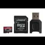 Kingston Technology Canvas React Plus memory card 128 GB MicroSD Class 10 UHS-II