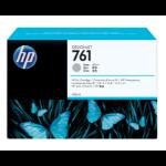 New Genuine HP 761 400ml DesignJet Gray Ink Cartridge