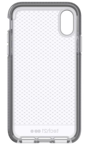 "Tech21 Evo Check mobile phone case 14.7 cm (5.8"") Cover Grey,Translucent"