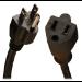 Tripp Lite Heavy-Duty Power Extension Cord, 15A, 14AWG (NEMA 5-15P to NEMA 5-15R), 3-ft.
