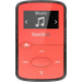 Sandisk Cilip Jam Reproductor de MP3 Rojo 8 GB