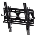 "Hama ""Next Light"" LCD/PL/LED Wall Bracket, VESA 400x400, can be tilted, black Black"
