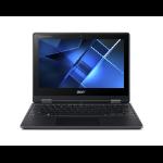 "Acer TravelMate Spin B3 TMB311RN-31-C0FM Hybrid (2-in-1) Black 29.5 cm (11.6"") 1920 x 1080 pixels Touchscreen Intel® Celeron® 4 GB DDR4-SDRAM 64 GB Flash Wi-Fi 5 (802.11ac) Windows 10 Pro Education"