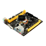 Biostar A10N-8800E motherboard NA (integrated CPU) Mini ITX