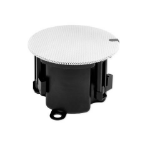 Cloud Electronics CS-C3W Black, White loudspeaker