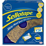 Sellotape E STICKY HOOK SPOTS PK125 4098