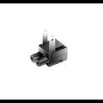 CoreParts MBXUSBC-PLUG123 electrical power plug Black