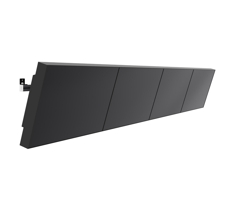 "SMS Smart Media Solutions Multi Display Wall Tilt 65"" Black"