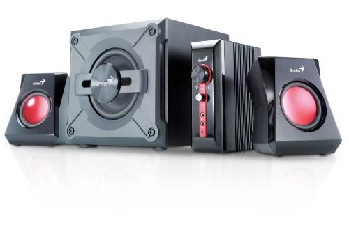 Genius SW-G2.1 1250 speaker set 2.1 channels 38 W Black,Red