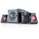 Genius SW-G2.1 1250 2.1channels 38W Black,Red speaker set
