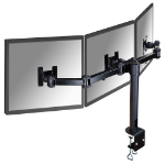 Newstar FPMA-D960D3 Flat panel Tischhalter 53,3 cm (21 Zoll) Clamp Schwarz
