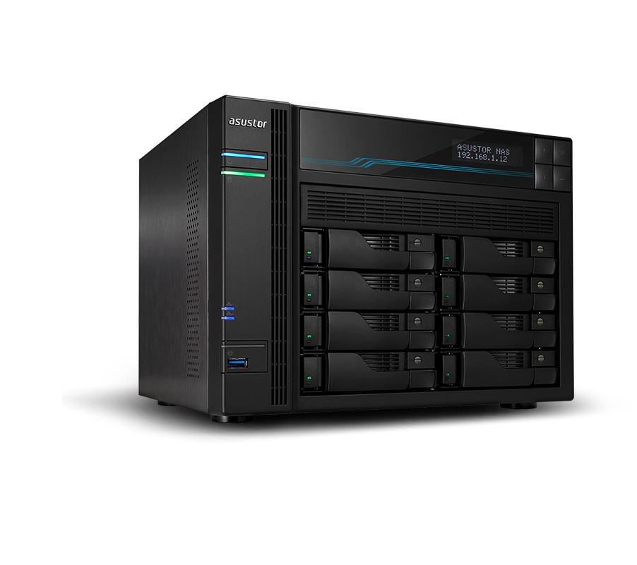 Asustor AS6508T NAS/storage server Ethernet LAN Tower Black