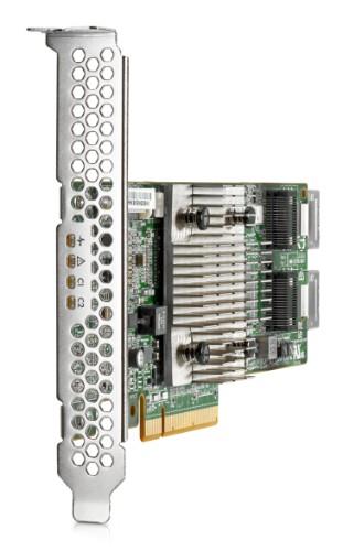 Hewlett Packard Enterprise H240 12Gb 2-ports Int Smart Host Bus Adapter RAID controller PCI Express x8 3.0 12 Gbit/s