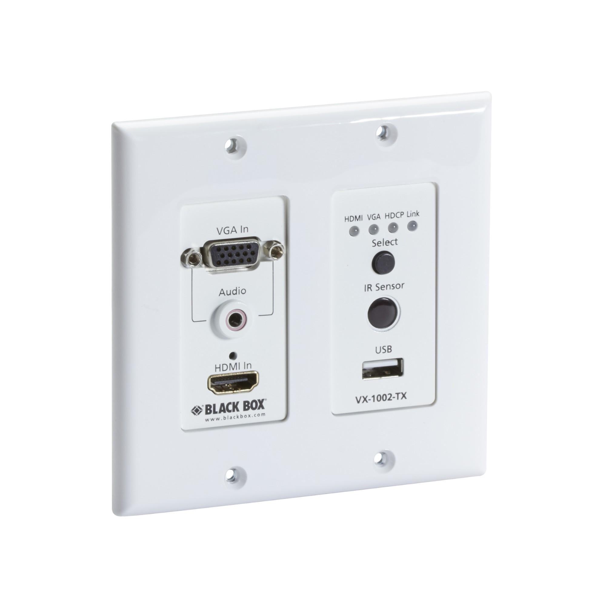 Black Box VX-1002-TX AV transmitter White AV extender