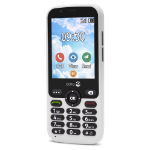 "Doro 7010 7.11 cm (2.8"") 112 g White Feature phone"