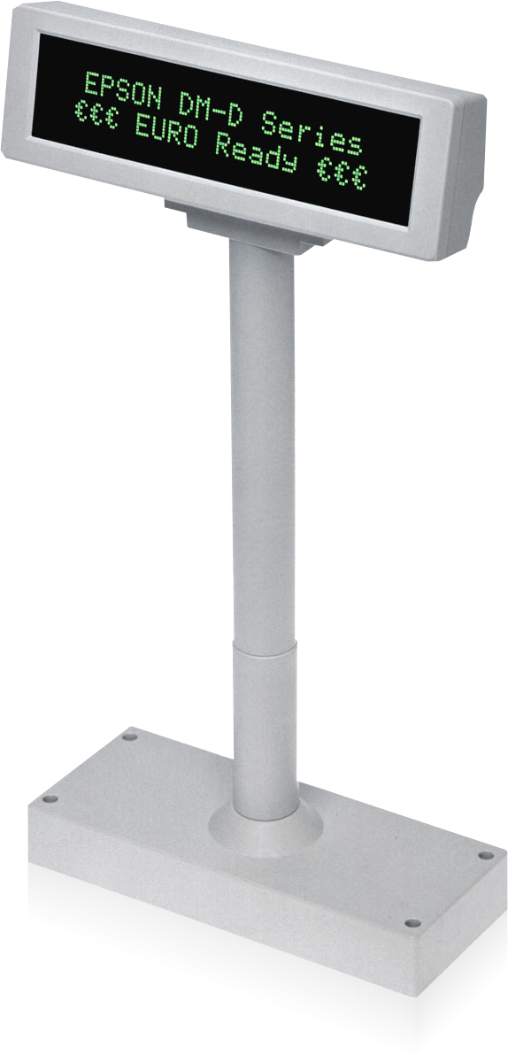 Epson DM-D210BA 40 digits RS-232 Grey