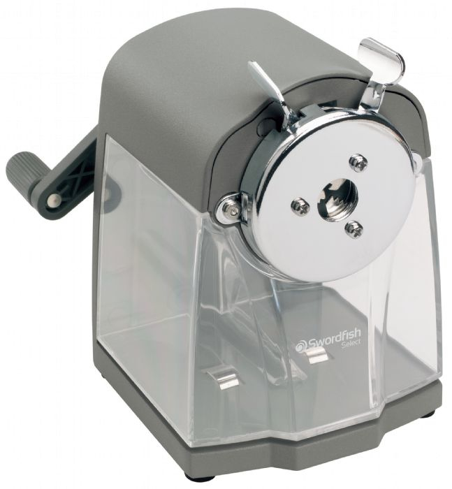 SWORDFISH 40104 PENCIL SHARPENER MANUAL PENCIL SHARPENER GREY