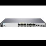 Hewlett Packard Enterprise Aruba 2530 24 PoE+ Managed L2 Fast Ethernet (10/100) Power over Ethernet (PoE) 1U Grey