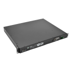 Tripp Lite 2–2.4kW Single-Phase ATS/Switched PDU, 200–240V Outlets (10 C13), 2 C14 Inlets, 3.6 m Cords, 1U Rack-Mount