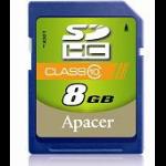 Apacer 10GB SDHC 8GB SDHC memory card