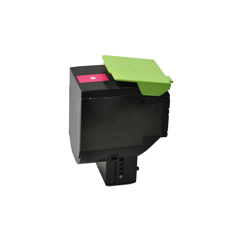 V7 Tóner para impresoras Lexmark seleccionadas - Sustitución del número de pieza del cartucho OEM80C2HM0