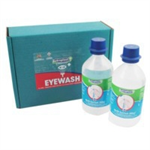 Wallace Eyewash Sterile Water Bottles for Eye Care Dispensers 500ml Ref 2404039 [Pack 2]