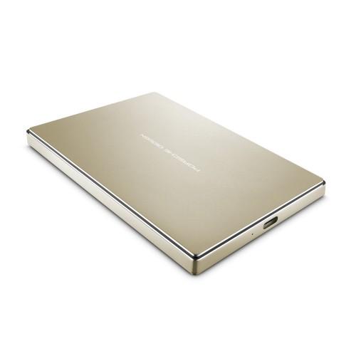 """LaCie STFD2000403 Porsche Design 2TB Portable 2.5"""" External Hard Drive - PC Mac"""