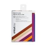 Cricut 2007255 card stock/construction paper 12 sheets