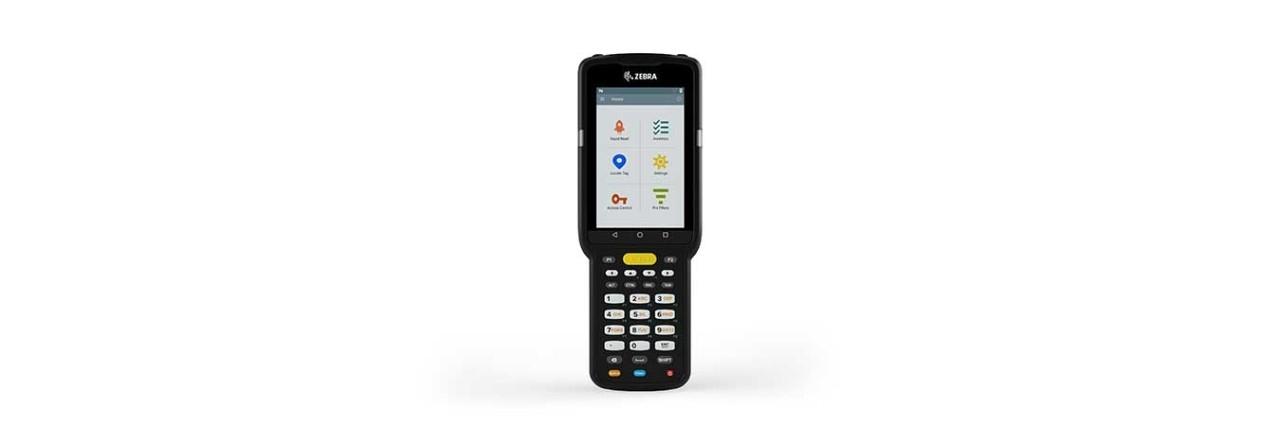 "Zebra MC3330R handheld mobile computer 10.2 cm (4"") 800 x 480 pixels Touchscreen 665 g Black"