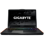 "Gigabyte P series P56XT-CF2 2.8GHz i7-7700HQ 15.6"" 1920 x 1080pixels Black Notebook"