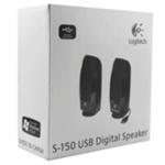 Logitech S150 Stereo portable speaker 1.2W Black