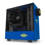 NZXT H500 Vault Boy Midi-Tower Black,Blue,Yellow
