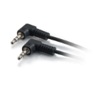 "C2G 40582 audio cable 18.1"" (0.46 m) 3.5mm Black"