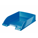 Leitz WOW Polystyrene Blue desk tray
