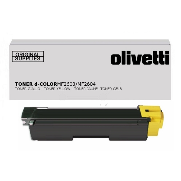 Olivetti B0949 Toner yellow, 5K pages