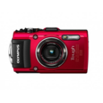 "Olympus STYLUS Tough TG-4 Compact camera 16MP 1/2.3"" BSI CMOS 4608 x 3456pixels Red"