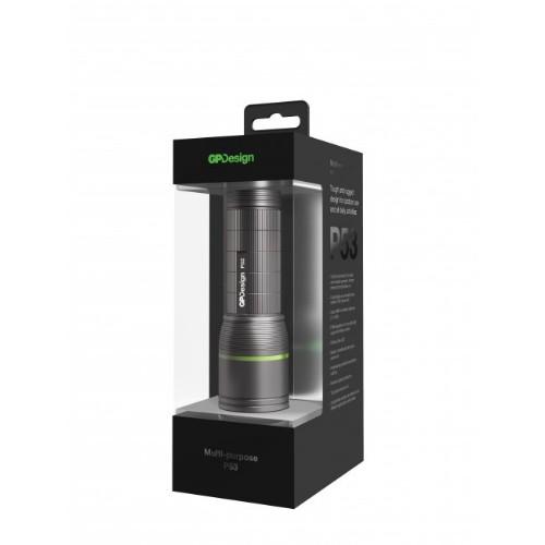 GP Batteries P53 Hand flashlight Black LED