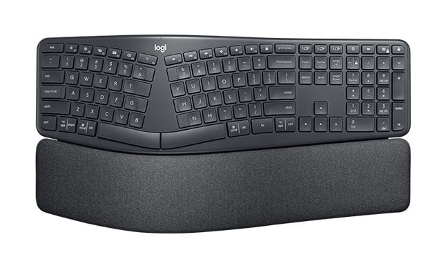 Logitech ERGO K860 keyboard RF Wireless + Bluetooth QWERTZ German Black