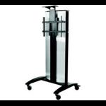 Peerless SmartMount Black Flat panel Multimedia cart