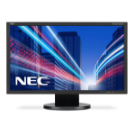 "NEC AccuSync AS222WM 21.5"" Wide Black with Speakers"